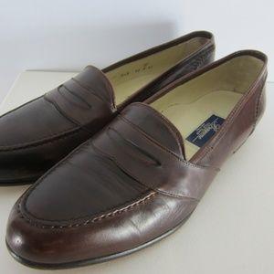Cole Haan Bragano Mens 12 M Brown Leather Loafers